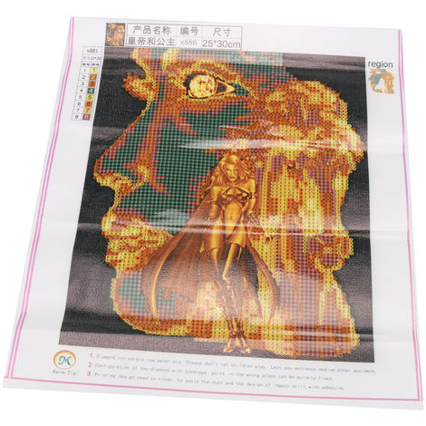 DIY Diamond Painting 5D Colorful Lion Without Framing To Decorate Your Living Room Or Bedroom Hasaki