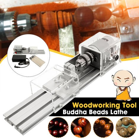 DIY Mini Tower Beads Polisher Machine Rotary Tool Kit Beads and Jewelry Making Woodworking Mohoo
