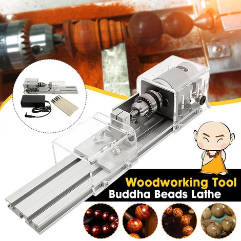DIY Mini Tower Beads Polisher Machine Rotary Tool Set Beads And Jewelry Making Woodworking Hasaki