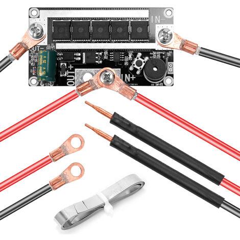 DIY Spot-soldadores pluma portatil de 12 V de la bateria de almacenamiento de soldadura por puntos Printed Circuit Board equipo de soldadura