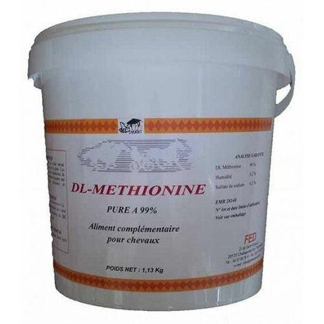 DL METHIONINE PURE - Acides Aminés Cheval - Contenance: 1,13 kg