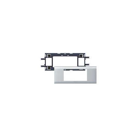 DLP ALU-SOPORTE MOSAIC 4M T65 LEGRAND 011204