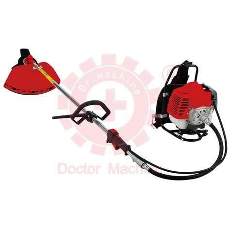 DM0005 Decespugliatore a Zaino 43cc - 1.47Kw - 2,3Hp - Rotazione 180° - Potente ed Ergonomico