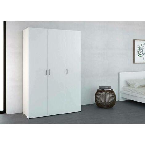 Dmora Wardrobe cabinet, white