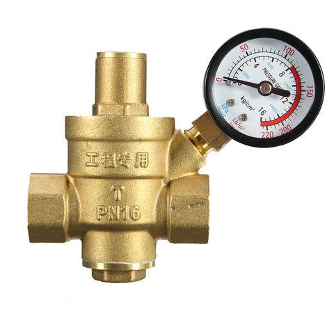 """DN15 1/2 """"Laton Valvulas de mantenimiento de reduccion de presion de agua, 85 * 63 mm"""