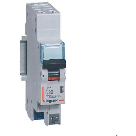 Dnx3 disjoncteur 1p+ng d20 4500a/6ka auto
