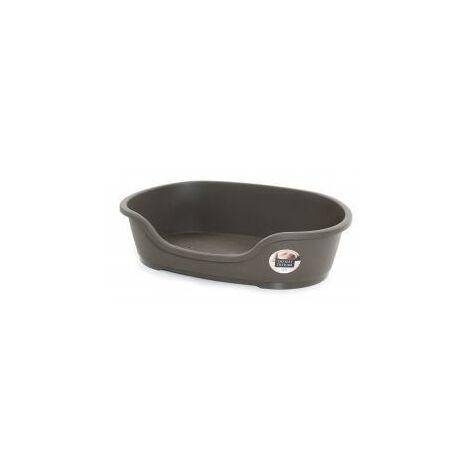 Do Not Disturb Plastic Dog Bed No6 Warm Grey (780113)