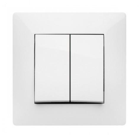 Doble conmutador eléctrico Habitat-15