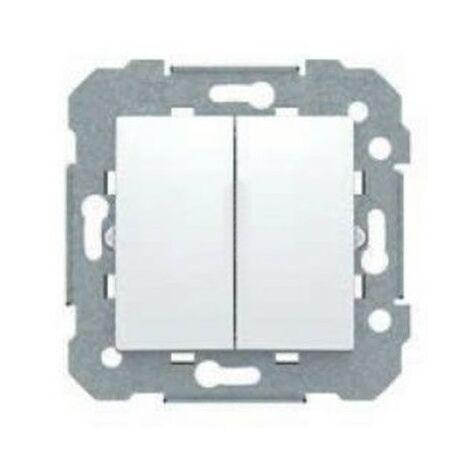 Doble interruptor color blanco BJC Viva 23509