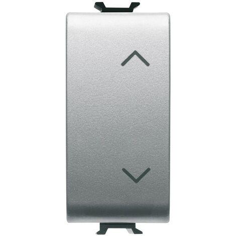 Doble interruptor de Gewiss Coro de obturación con flechas GW14140