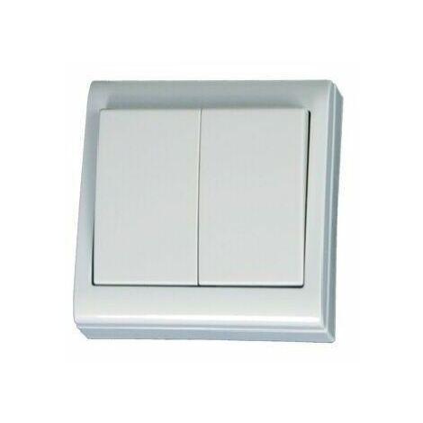 Doble interruptor de superficie serie Focus GSC 0200496