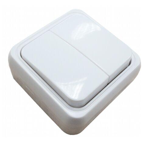 Doble interruptor superficie Serie Onsen