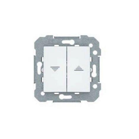 Doble pulsador de persianas blanco BJC Viva 23565