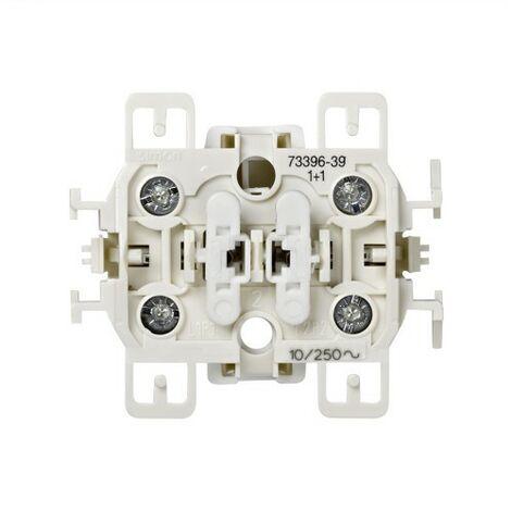 Doble pulsador Simon 73 73396-39