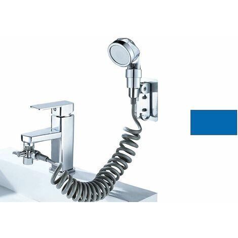 """main image of """"Doccia a mano doccetta portatile con tubo flessibile anticalcare deviatore bagno"""""""