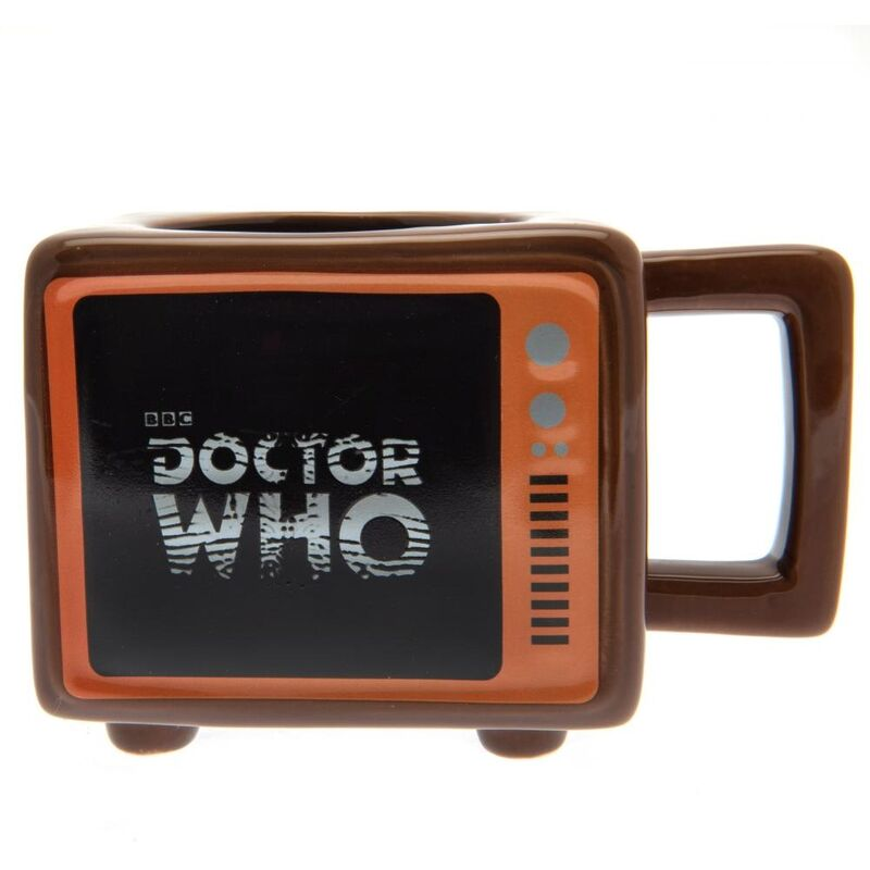 Image of Heat Changing Mug (One Size) (Brown) - Doctor Who