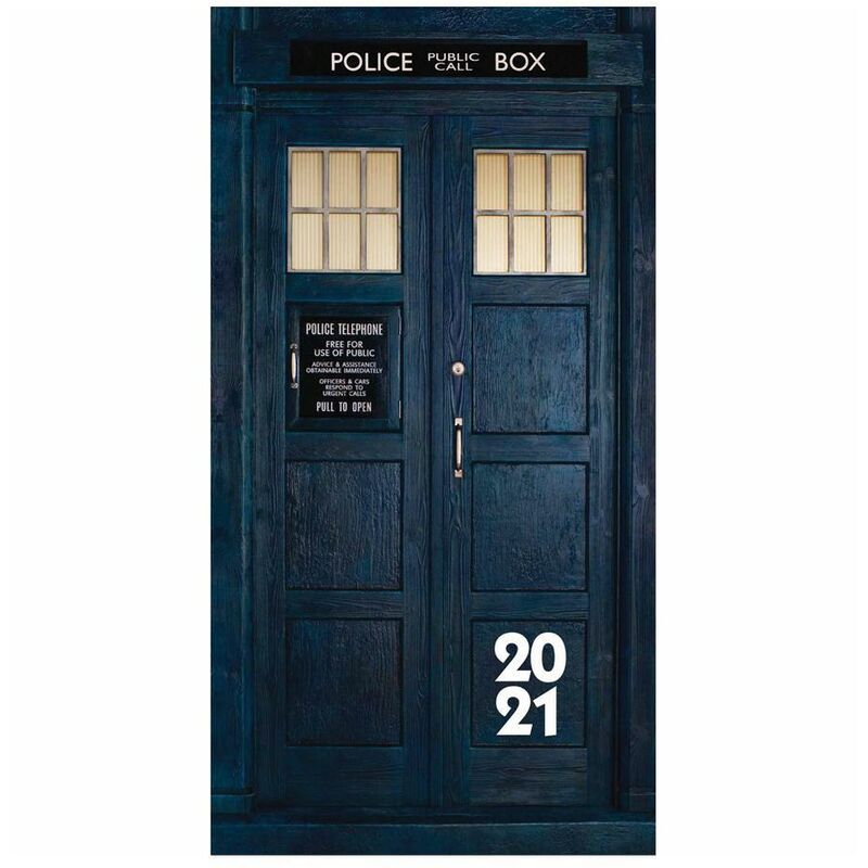 Image of Pocket 2021 Diary (One Size) (Blue) - Doctor Who