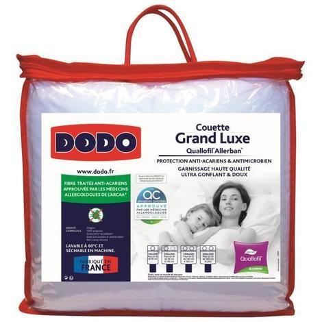 DODO Couette 350gr/m² Grand Luxe Quallofil
