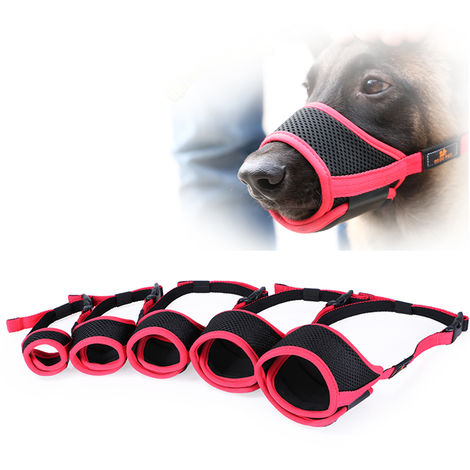DODOPET Dog Pet Muzzle Dog Muzzle Mouth Cover Muzzle Guard for Dogs Prevent Biting Barking