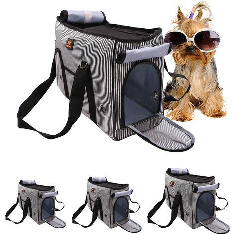 DODOPET, mascotas portador del gato portador del perro portador del animal Companias de Transporte, M, gris