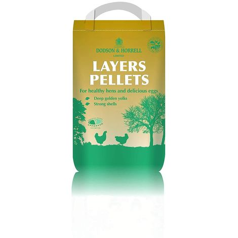 Dodson & Horrell Layers Pellets Poultry Feed (5kg) (May Vary)