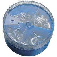 Dönges Aderendhülsen-Sortiment, unisoliert, 4 - 16 mm², Streudose