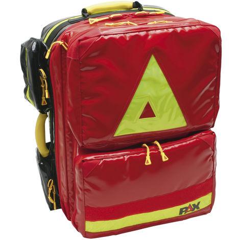 Dönges Notfallrucksack First-Responder O2 DIN 13155, PAX-Plan, rot