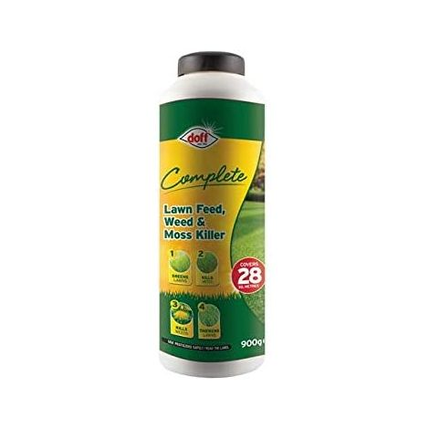 DOFF Complete Lawn Feed, Weed & Moss Killer 1kg