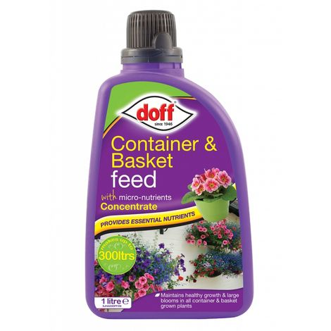 Doff Container and Basket Garden Plant and Flower Feed - 1L