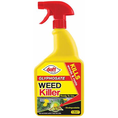 DOFF F-FO-A00-DOF-04 Glyphosate Weed Killer RTU 1 Litre