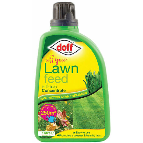 DOFF F-LF-A00-DOF-01 All Year Lawn Feed Concentrate 1 Litre