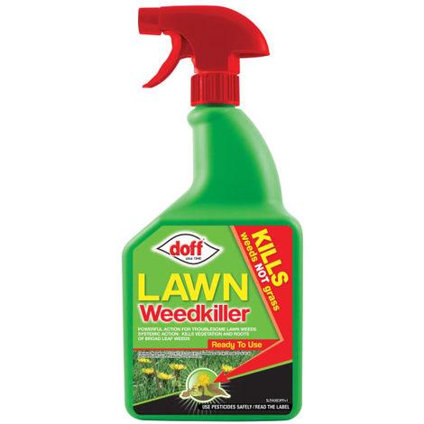 Doff Lawn Weedkiller Rtu 1 Litre