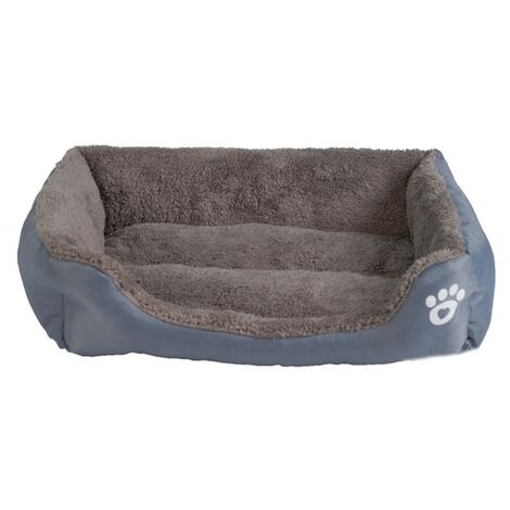 """main image of """"Dog Basket Dog Bed Cushion For Dog Cat Washable Extra Soft Cozy and Cute Cushion For Dog Cat, Cats and Small Dogs of Medium Size, Gray"""""""