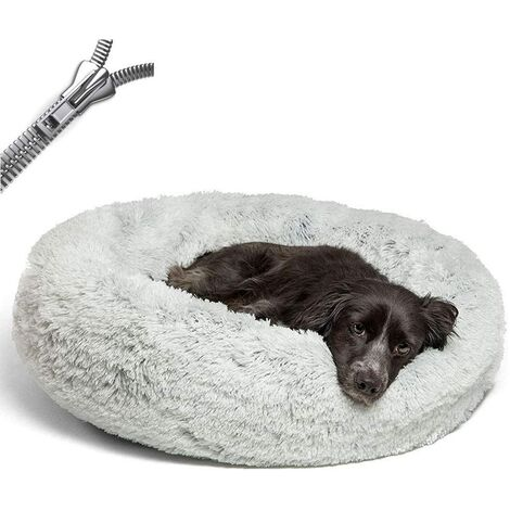 """main image of """"Dog Basket, Dog Cushion Anti Stress XXXL With Removable Cover, Baskets And Furniture For Dogs, Round Soft Dog Bed, Washable, Comfortable"""""""