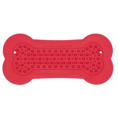 """main image of """"Dog Bath Shower Sticker Silicone OS Sticker Dog Toy Sticker Pet Toys Cat Dog Bath Sticker Pet Dog Supplies (Red)"""""""
