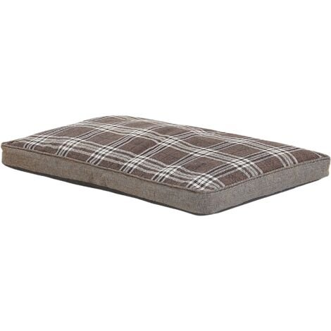 Dog Bed Brown 100 x 70 cm AMARAT