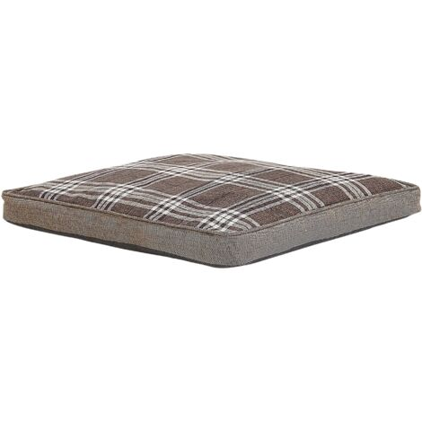 Dog Bed Brown 80 x 85 cm AMARAT