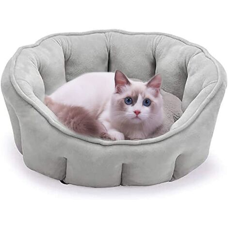 """main image of """"Dog Bed, Cat Bed Dog Sofa Plush Dog Cushion Bed Extra Soft Pet Basket for Small Cats and Dogs, 46 * 46 * 23cm"""""""
