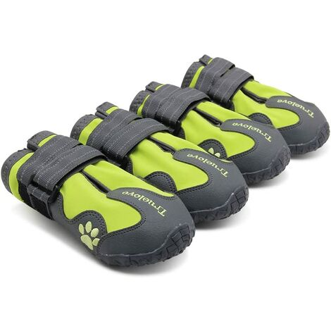 """main image of """"Dog Boots Waterproof Dog Shoes with Best Reflective Straps for Small Medium Large Dog Outdoor(#5)"""""""