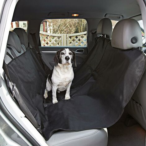 Dog Car Seat Cover - Waterproof Heavy Duty Rear Back Seat Pet Protector Liner