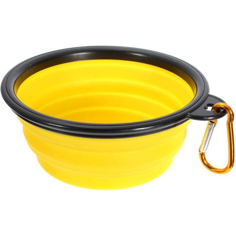 Dog Cat Silicone Feeding Bowl