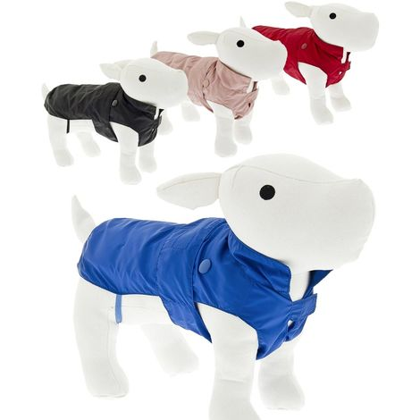 Dog coat for collar padded inside with detachable down jacket with snap buttons Ferribiella