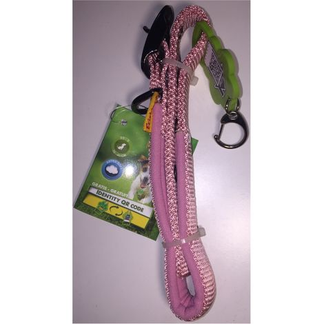 Dog collar pink Extra-Soft - Size XS-S 25-40cm - QR code - Friskies Purina