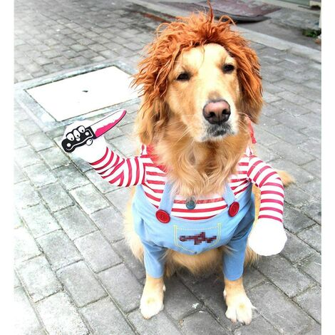 """main image of """"Dog Costume Animal Party Costume Cosplay Pet Costume L A"""""""