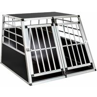 Dog crate double