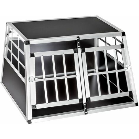 """main image of """"Dog crate double - dog cage, puppy crate, dog travel crate"""""""