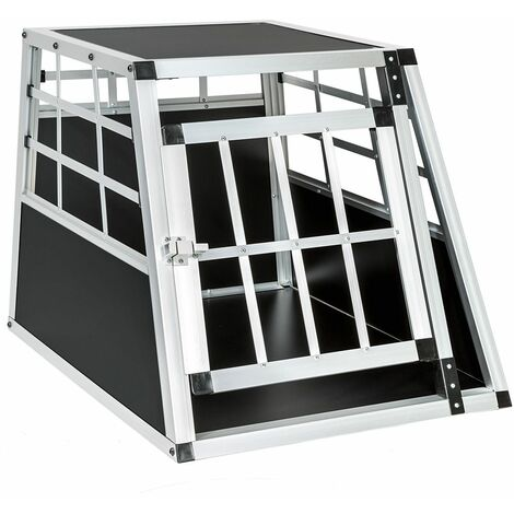 Dog crate single - dog cage, puppy crate, dog travel crate