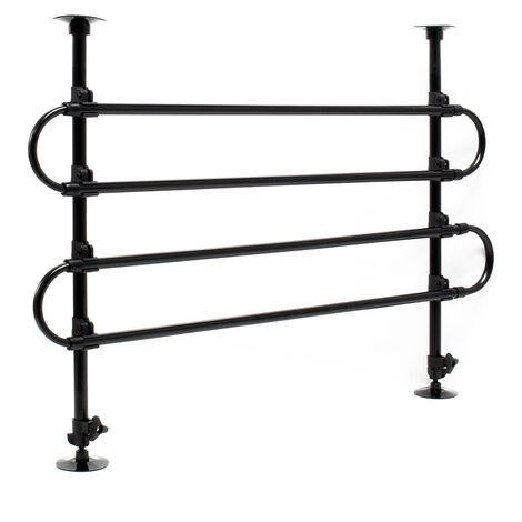 Dog Guard Barrier Freely Adjustable for the Car Model A Made of Iron