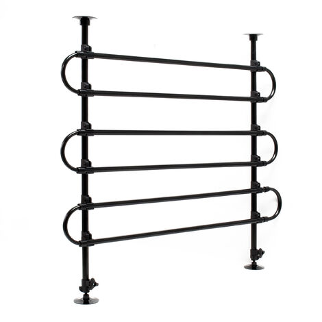 Dog Guard Barrier Freely Adjustable for the Car Model C Made of Iron