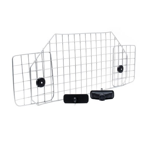 Dog Guard Barrier Freely Adjustable for the Car Model E Made of Iron